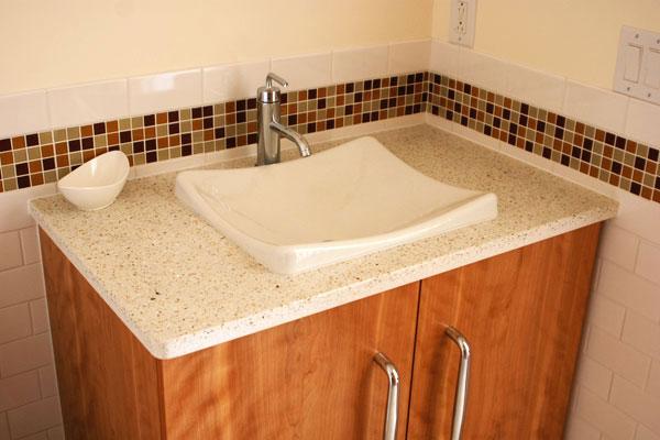 New Hampshire Interior Designers - Alice Williams Interiors - Earth Tone Bathroom - Bathroom Interior Design