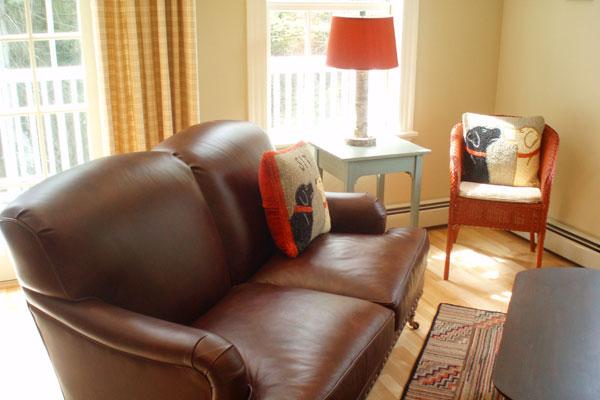 New Hampshire Interior Designers - Alice Williams Interiors - Country Living Room - Interior Design