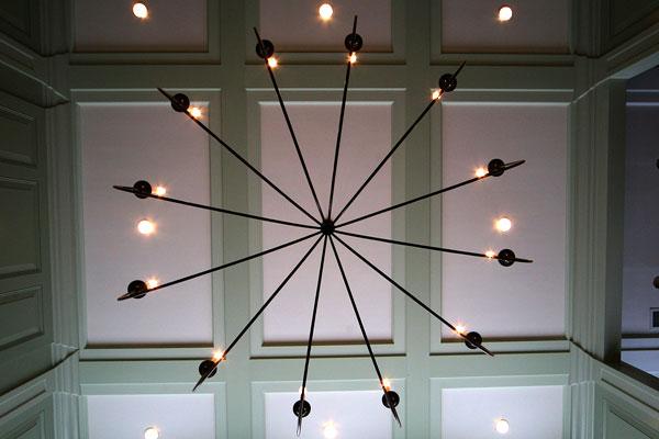 New Hampshire Interior Designers - Alice Williams Interiors - Parlor Ceiling - Interior Design